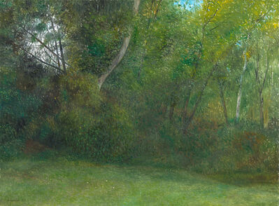 Richard Eurich, 'Our back garden', 1983