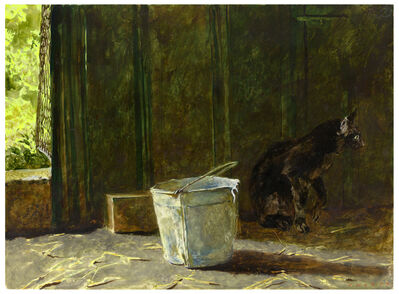 Jamie Wyeth, 'Mousing', 1993