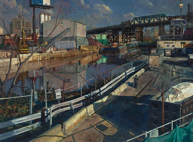 Derek Buckner, '9th Street Bridge, Gowanus Canal'