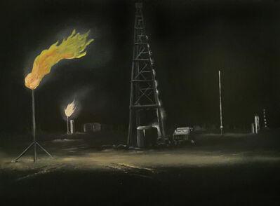 Eric Wright, 'Morrow County Oil by Night II (Bucolic)', 2020