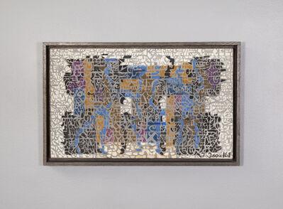 Isidore Isou, 'Vitrail sobre (98)', 1961