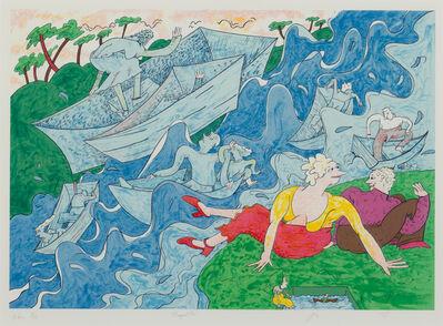 Gladys Nilsson, 'Regatta', 2010