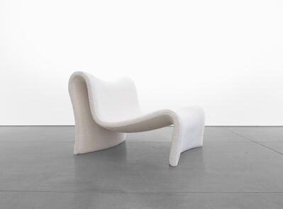 Not Attributed, 'Mid-Century Wave Chair', 20th Century