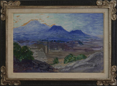 Dr. Atl, 'Landscape with Mountains (Valley of Mexco)', circa 1928