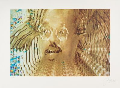 Nam June Paik, 'Allen in Vision', 1990