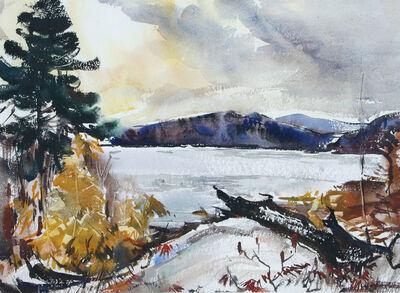 Leonard Brooks, 'Autumn Day Haliburton', 1958