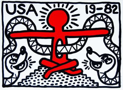 Keith Haring, 'USA 19-82', 1982