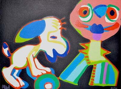 Karel Appel, 'Circus suite, no. 18', 1978