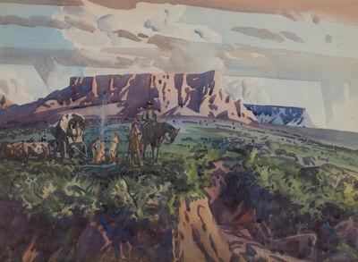 Frank Wilcox, 'Gilbert's Camp', ca. 1941