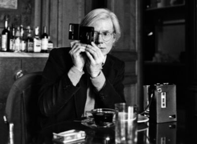 Harry Benson, 'Andy and Camera #1', 1977