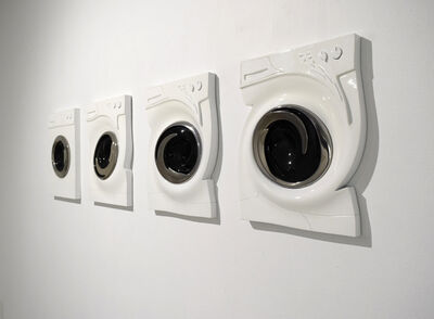 Leandro Erlich, 'Washing Machines - The Fate of Function', 2018