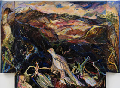 Diana Kurz, 'Haleakala with Birds', 2007