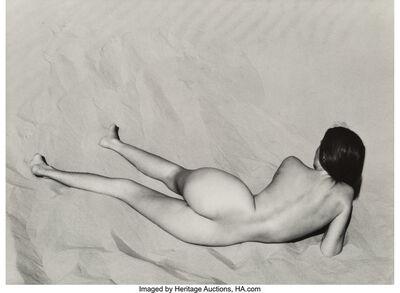 Edward Weston, 'Nude on Sand, Oceano', 1936-printed later
