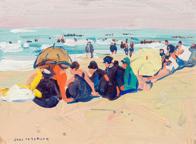 Jane Peterson, 'Beach Scene ', ca. 1915