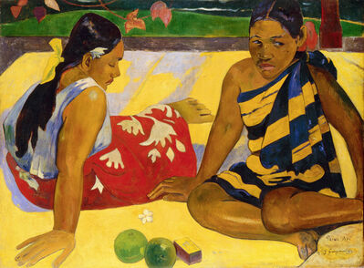 Paul Gauguin, 'Parau api (What's news?)', 1892