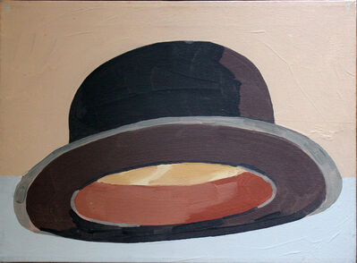 Luis Frangella, 'Black Bowler Hat (Bottom View)', 1988
