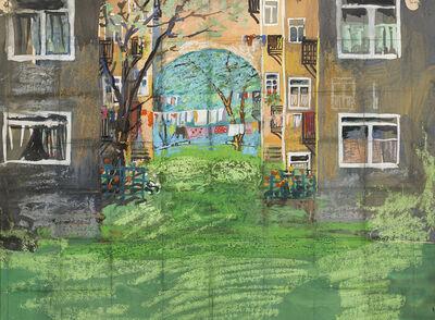 Elene Akhvlediani, 'Cherry Blossoms', 1965