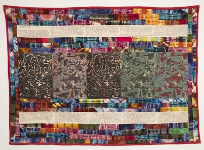 Faith Ringgold, 'No More War Story Quilt Part II', 1985
