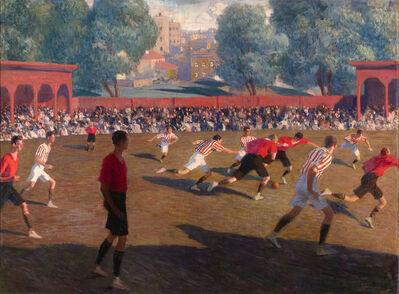 Fedor Ivanovich Zakharov, 'Football', ca. 1912