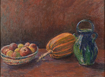 Blanche Hoschedé-Monet, 'Still Life with Squash', 1930