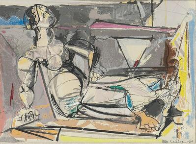 Max Weber, 'Reclining Woman', 1956