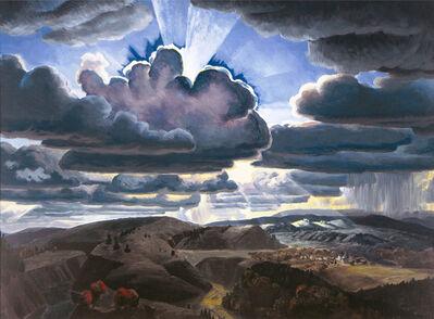 Charles Ephraim Burchfield, 'Sunburst', 1929-1931