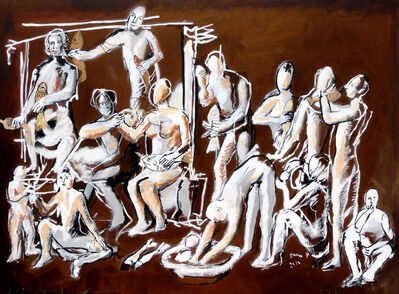 Dario Fo, 'Dai Vangeli apocrifi. Miracolo dei pani e dei pesci', 2010