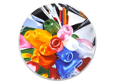 Jeff Koons, 'Coupe Plate Tulips', 2015