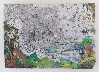Camille Hoffman, 'Landing (Mist Parts Over Columbus Circle)', 2017