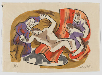 David Park, 'Joseph Cast in a Pit, from the Genesis series', ca. 1934