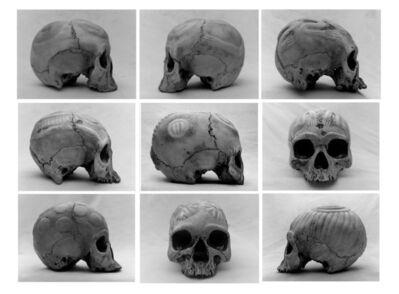 Henrik Saxgren, 'Voodoo Skulls', 2019