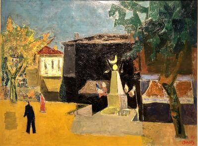 Oepts, Wim, 'Gedenkteken Sommières', 1954