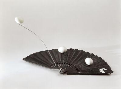 Antoni Tàpies, 'Ventall i ous', 1996
