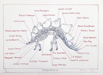 Mark Dion, 'Stegosaurus', 2018