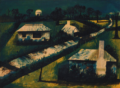 Charles Blackman, 'Part of Avonsleigh (Moonlight, Avonsleigh)', 1955