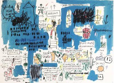 Jean-Michel Basquiat, 'Ascent'