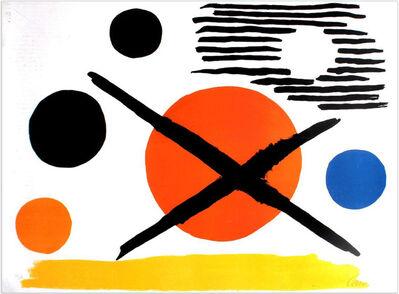 Alexander Calder, 'La Croix Sur Le Soleil', 1965
