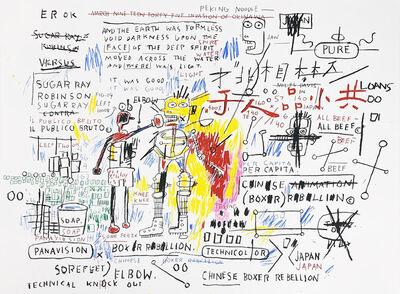 Jean-Michel Basquiat, 'Boxer Rebellion', 1982-83/2017