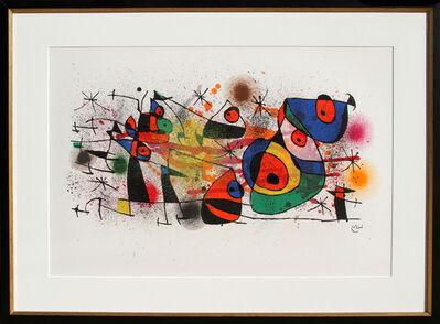 Joan Miró, 'Céramiques, from Céramiques de Miro et Artigas (M. 928) ', 1974
