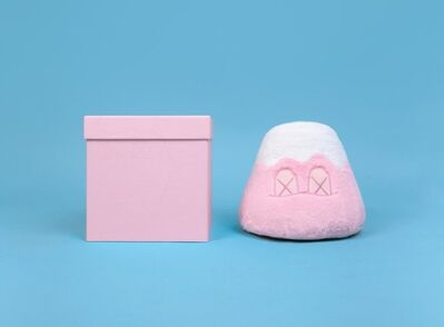 KAWS, 'KAWS Holiday Japan Mt Fuji Plush PINK', 2019