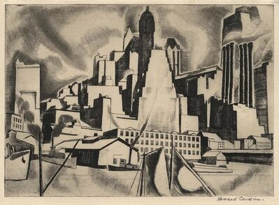 Howard N. Cook, 'East River.', 1928