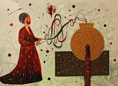 Shiva Ahmadi, 'Golden Ball', 2015