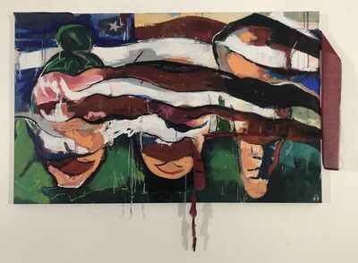 Steven Tritt, 'Folded Blindly', 2019