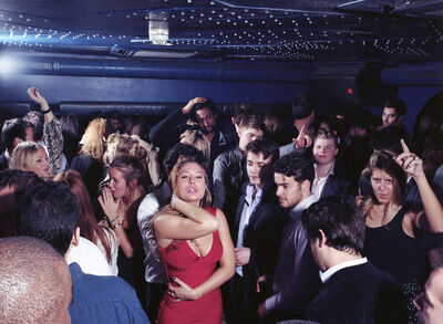 Mark Neville, 'The dance floor at Boujis Nightclub, South Kensington', 2011
