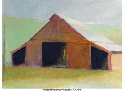 Wolf Kahn, 'Tennessee Horse Barn', 1982