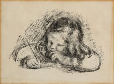 Pierre-Auguste Renoir, 'Le petit garcon au porte-plume (Claude Renoir ecrivant)'
