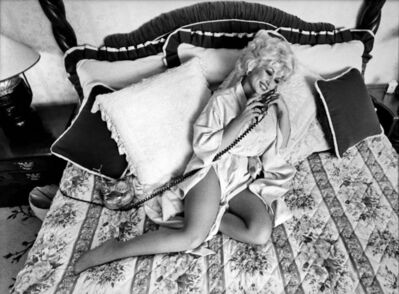 Harry Benson, 'Dolly Parton in Bed', 1980