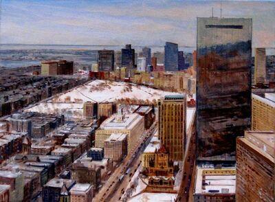 Frederick Kubitz, 'Boston Cityscape in Winter', 2020
