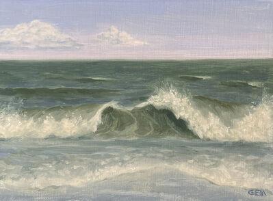 Gayle Madeira, 'Double Paradise Beach Wave', 2021