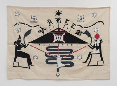 Umar Rashid (Frohawk Two Feathers), 'A flag of the independent Kingdom of Harlem,', 2020